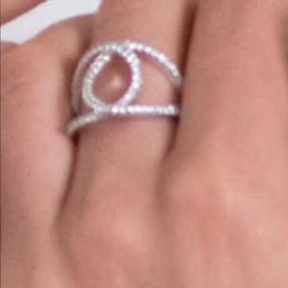 Touchstone Crystal Alliance Ring size 9 BNIB
